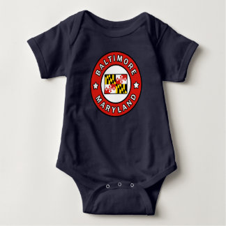 Baltimore Maryland Baby Bodysuit