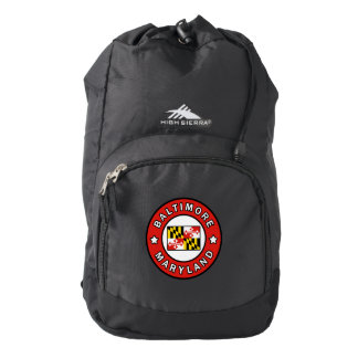 Baltimore Maryland Backpack