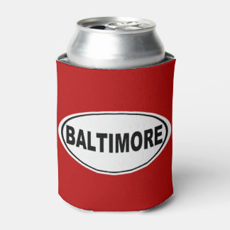 Baltimore Maryland Can Cooler