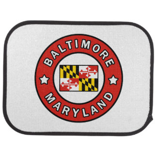 Baltimore Maryland Car Mat