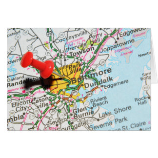 Baltimore, Maryland Card