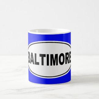 Baltimore Maryland Coffee Mug