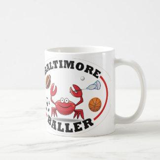 Baltimore Maryland Crab Mug-Sporty Coffee Mug