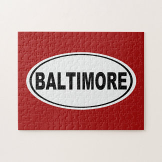 Baltimore Maryland Jigsaw Puzzle