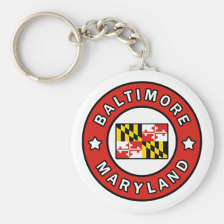 Baltimore Maryland Keychain