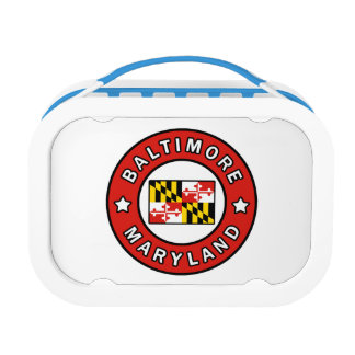 Baltimore Maryland Lunch Box