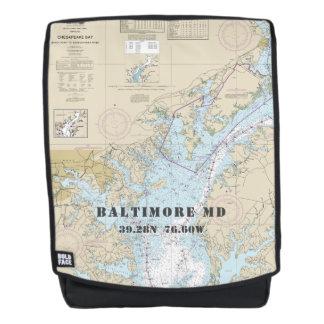 Baltimore Maryland Nautical Latitude Longitude