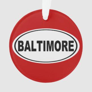 Baltimore Maryland Ornament