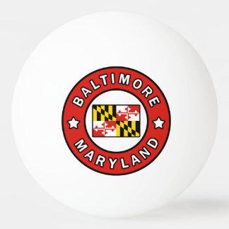 Baltimore Maryland Ping Pong Ball