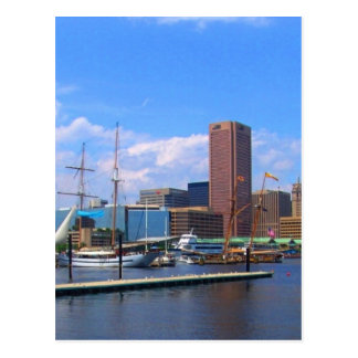 Baltimore Maryland Postcard
