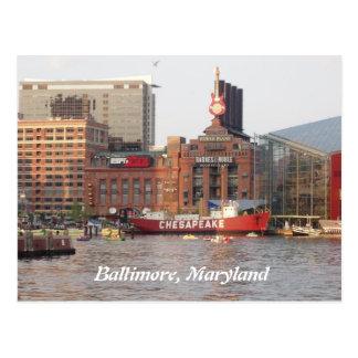Baltimore, Maryland Postcard