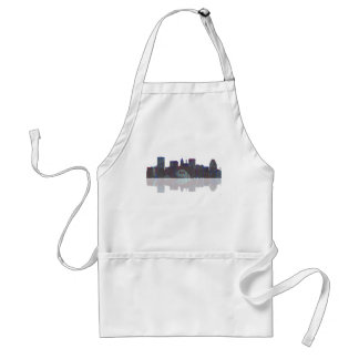 Baltimore Maryland Skyline Standard Apron