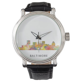BALTIMORE MARYLAND SKYLINE WB1 - WRISTWATCHES