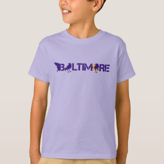 Baltimore Maryland with Blackbirds T-Shirt