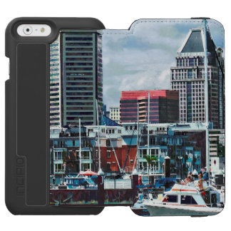 Baltimore MD - Baltimore Skyline at Charles River Incipio Watson™ iPhone 6 Wallet Case
