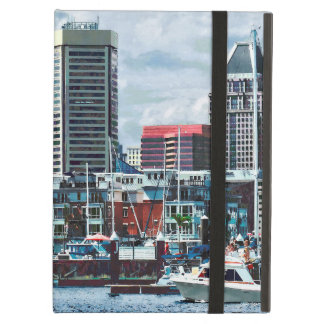 Baltimore MD - Baltimore Skyline at Charles River iPad Air Cover