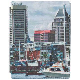 Baltimore MD - Baltimore Skyline at Charles River iPad Cover