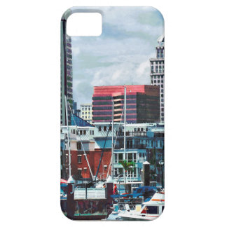 Baltimore MD - Baltimore Skyline at Charles River iPhone 5 Case