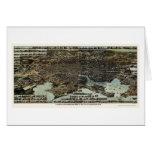Baltimore, MD Panoramic Map - 1870 Card