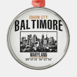 Baltimore Metal Ornament