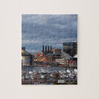 Baltimore Night Skyline Jigsaw Puzzle