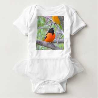 Baltimore Oriole Baby Bodysuit