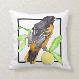 Baltimore Oriole Pillow