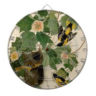Baltimore Oriole Rare Audubon Dart Board