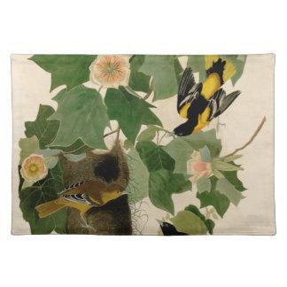 Baltimore Oriole Rare Audubon Placemat