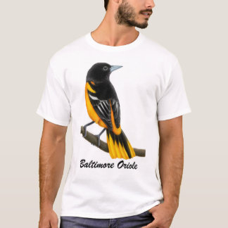 Baltimore Oriole Wild Bird Shirt