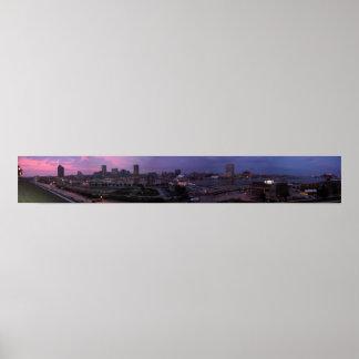 Baltimore Panorama Test Poster