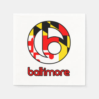 Baltimore Paper Napkins