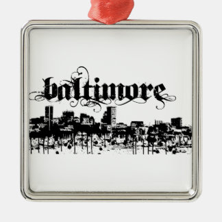 Baltimore Put on for your city Metal Ornament