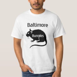 "Baltimore RATS ""Bunnies"" -- deal with it! T-Shirt"