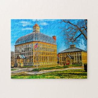 Baltimore Rollins Conservatory Maryland. Jigsaw Puzzle