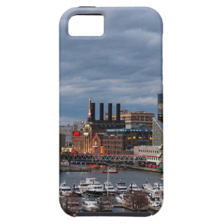 Baltimore Sundown Skyline iPhone 5 Cases