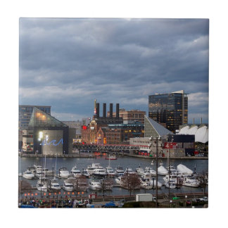 Baltimore Sundown Skyline Tile