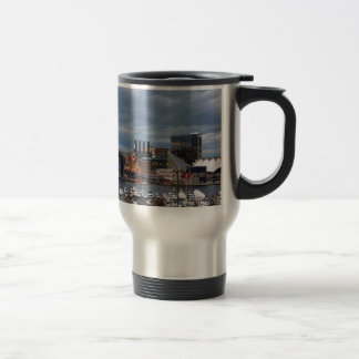 Baltimore Sundown Skyline Travel Mug