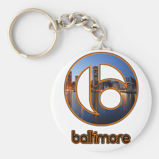 Baltimore things keychain