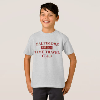 Baltimore Time Travel Club Kids' T-shirt