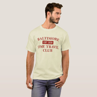 Baltimore Time Travel Club Men's light T-shirt