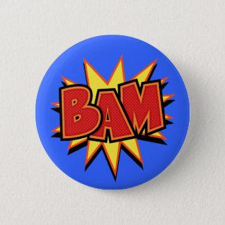 Bam-3 2 Inch Round Button