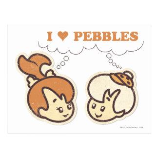 Bam Bam loves PEBBLES™ Postcard
