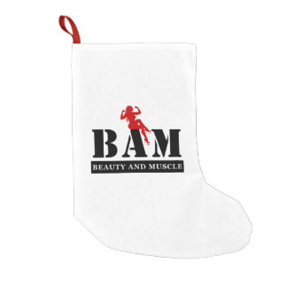 BAM Beauty and Muscle Christmas Stocking
