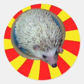 BAM! Hedgehog Sticker
