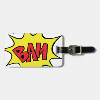 bam luggage tag