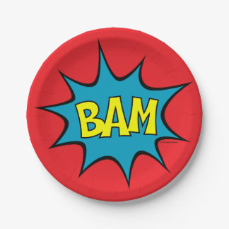 BAM! PAPER PLATE