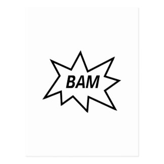 Bam! Postcard