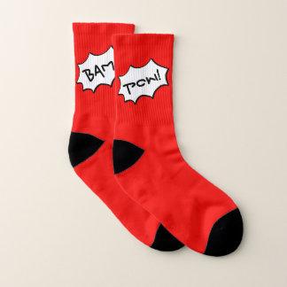 Bam, Pow Socks