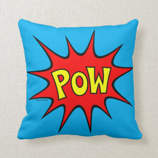 Bam! Pow! Throw Pillow